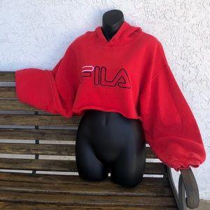 FILA | Cropped Hoodie